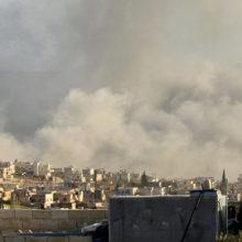 В Сирии рассказали об отснятых боевиками кадрах постановочной «химатаки» в Идлибе