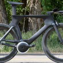 Изобретен велосипед нового поколения который работает без цепи
