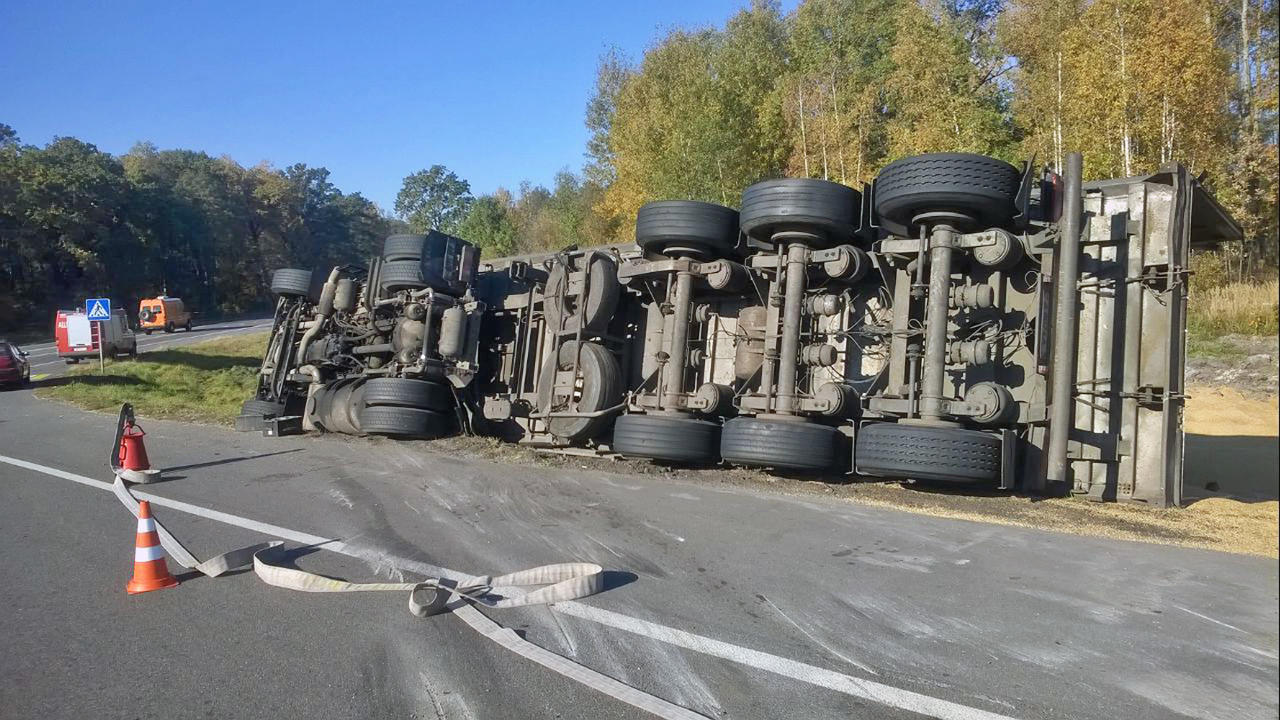 ДТП на «Хойникском перекрёстке»