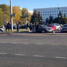 Массовое ДТП в Гомеле: столкнулось четыре автомобиля