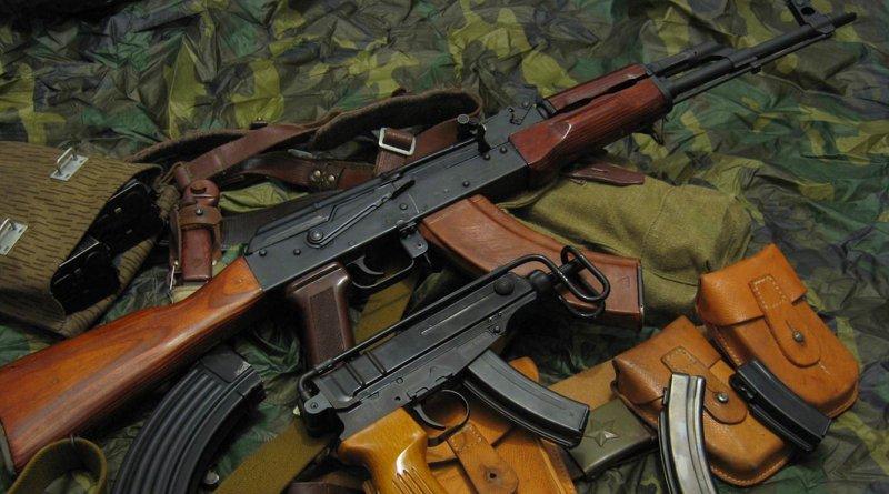 Оружейный трафик из Украины в Беларусь