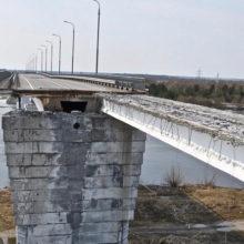 Стало известно, когда будет восстановлено движение по мосту через Припять