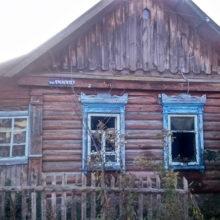 В Добруше при пожаре дома погиб молодой мужчина