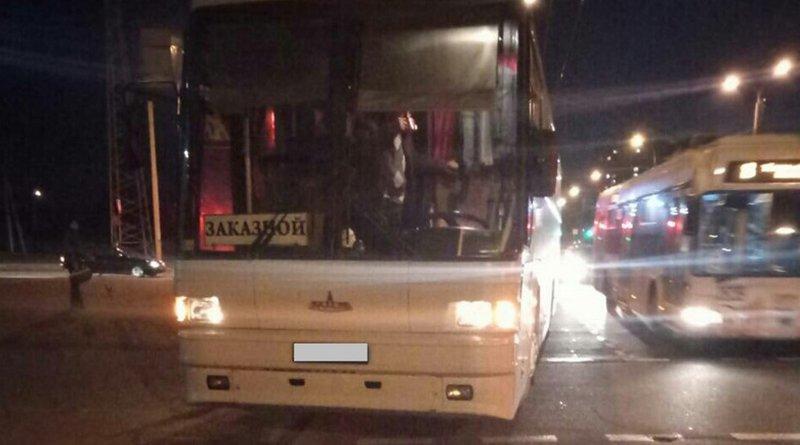 В Гомеле автобус сбил женщину
