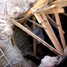 В Полоцке нашли подземный храм-усыпальницу