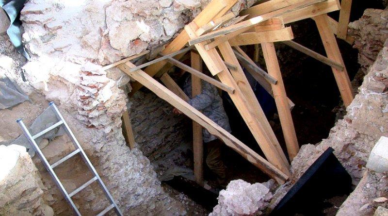 подземный храм-усыпальница