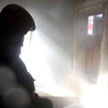 В Жлобине при пожаре нежилого дома спасен человек