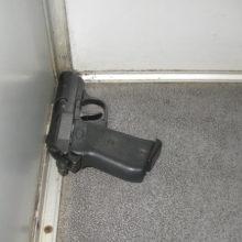 В поезде из Киева таможенники обнаружили пистолет