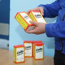 Сода пищевая получила новый дизайн пачки — с «чёлкой»