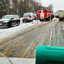 Страшное ДТП под Калинковичами: погибло 5 человек