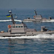 Украинские военные корабли пытались прорваться к Крымскому мосту