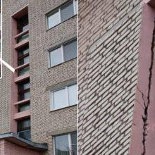 В Рогачёве «треснула» многоэтажка, жильцы бьют тревогу