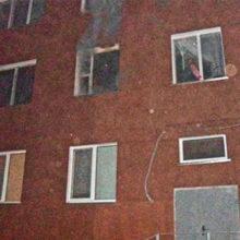 В Жлобине при пожаре погибла женщина, еще 4 человека были эвакуированы
