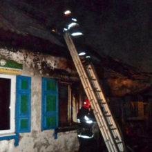 В Жлобинском районе загорелся дом, хозяин в этот момент спал