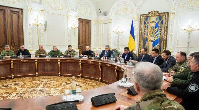 Военное положение в Украине сегодня