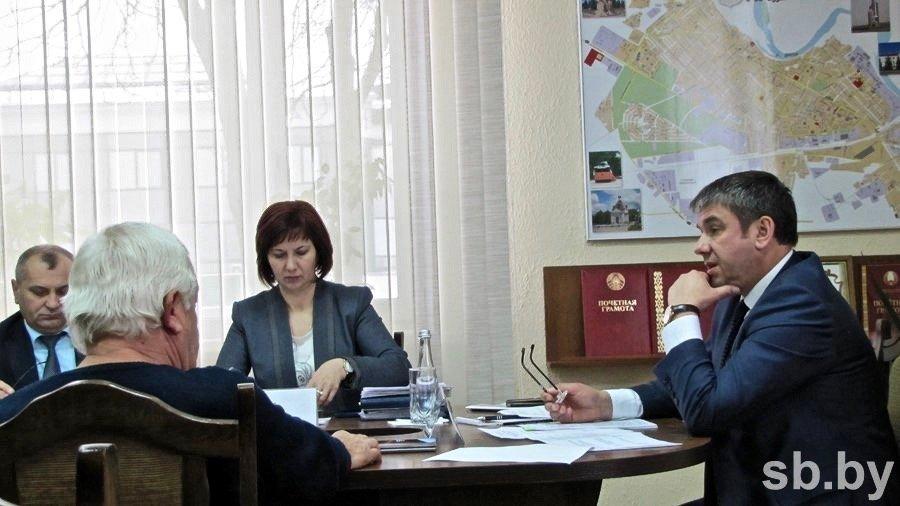 встреча помощника Президента с жителями города