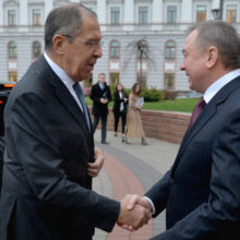 В Беларуси состоялось заседание коллегии МИД Беларуси и МИД России