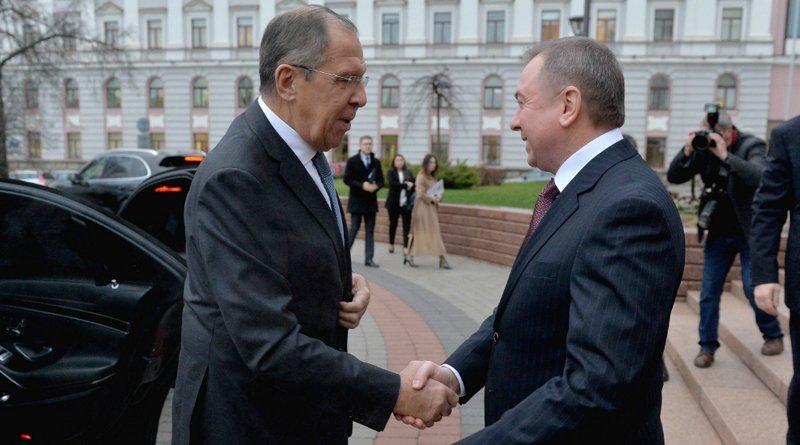 заседание коллегии МИД Беларуси и МИД России