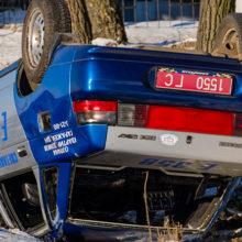 ДТП под Светлогорском: стокнулись BMW и милицейский ВАЗ, пострадала собака