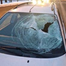 ДТП в Гомеле: Ford сбил человека на пешеходном переходе