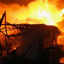 В Октябрьском районе Гомельской области горела пилорама