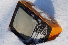 В Приборе милиционеры задержали гомельчанина с краденым телевизором