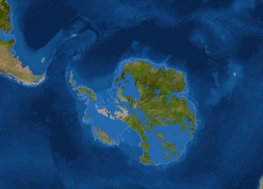 В Восточной Антарктиде