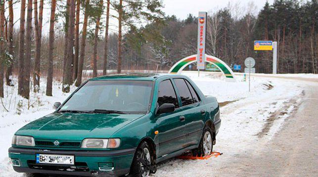 через белорусскую границу