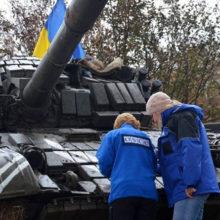 ОБСЕ продолжает фиксировать прибытие военной техники ВСУ на Донбасс