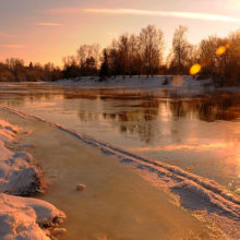 Украина обвинила Беларусь в загрязнении реки Березина
