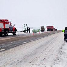 ДТП в Светлогорском районе: столкнулись трактор и микроавтобус