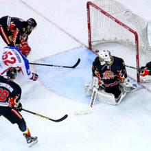 Хоккеисты «Гомеля» с разгромным счетом уступили казахстанскому «Арлану»