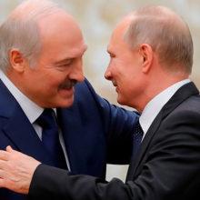 Лукашенко и Путиннаметили деловую встречу