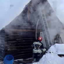 На пожаре в Гомеле погиб мужчина