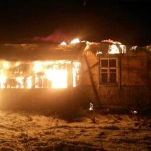 В Мозырском районе при пожаре дома погиб мужчина