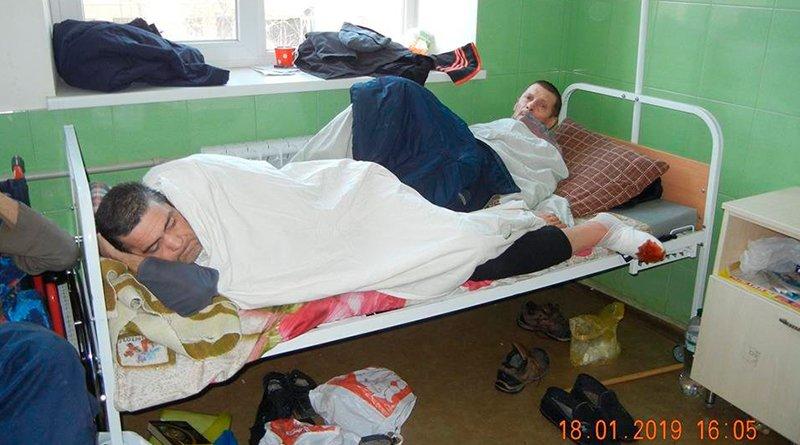 В украинской больнице