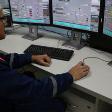 В Калинковичах открыли мини-ТЭЦ на местных видах топлива