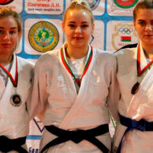Алина Пасталовская из Гомельского района стала чемпионкой страны по дзюдо
