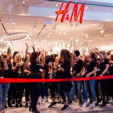Бренд H&M откроет первый магазин в Беларуси