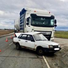 ДТП в Житковичском районе: столкнулись «Жигули» и грузовик DAF