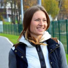 Дарья Домрачева представила именные лыжи