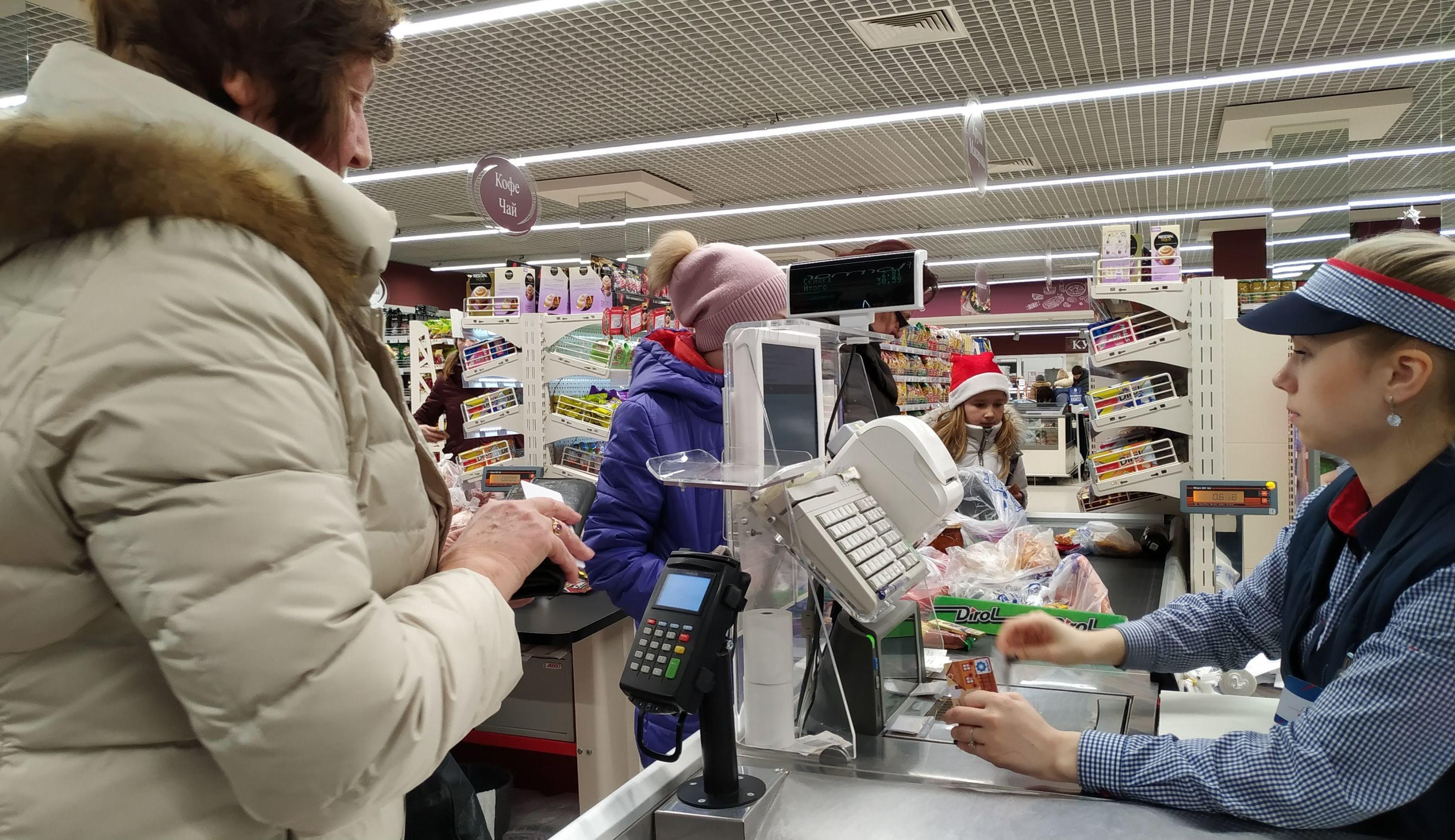 Пенсионерка утверждает, что на продукты тратит 50-55 рублей в месяц