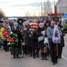 Похороны в Столбцах люди прощаются с жертвами жуткой трагедии