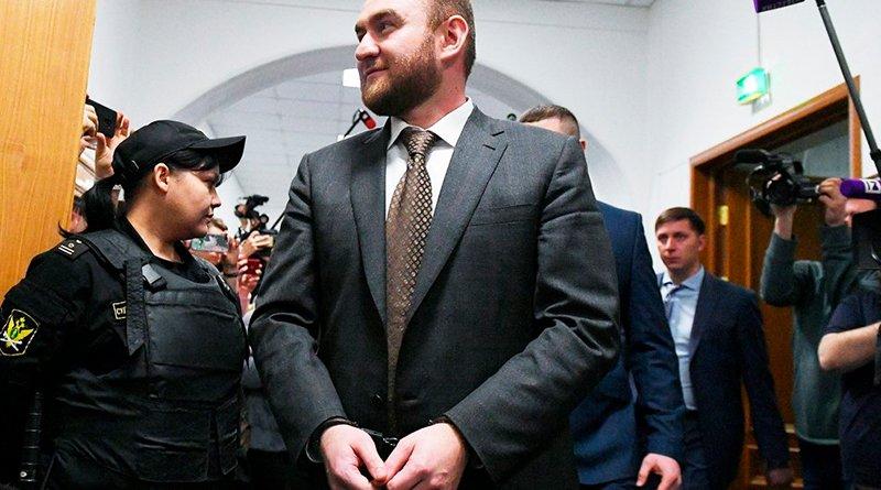 Сенатор Арашуков Рауф и в тюрьме - на широкую ногу