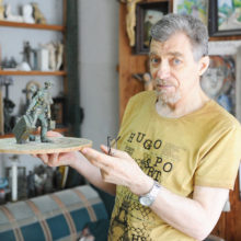Ушел из жизни выдающийся гомельский скульптор Вячеслав Долгов