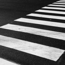 В Гомеле автобус на полной скорости едва не сбил пешеходов