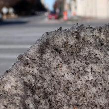 В Гомеле перестали убирать снег из-за отсутствия денег в бюджете