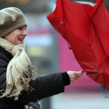 В пятницу в Беларуси объявлено штормовое предупреждение
