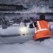 Железнодорожная цистерна в Светлогорске дала течь