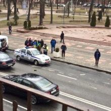 ДТП в Гомеле спровоцировало затор по улице Советской
